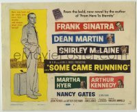 3x430 SOME CAME RUNNING TC '58 full-length art of Frank Sinatra + Dean Martin, Shirley MacLaine!