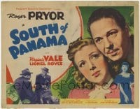 3x434 SOUTH OF PANAMA TC '41 Roger Pryor & Virginia Vale in Central America!