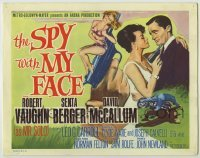 3x442 SPY WITH MY FACE int'l TC '66 Robert Vaughn, sexy Sharon Farrell, Man from UNCLE!