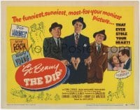 3x444 ST BENNY THE DIP TC '51 directed by Edgar Ulmer, Dick Haymes, Roland Young, Lionel Stander!