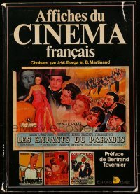 3y016 AFFICHES DU CINEMA FRANCAIS French softcover book '77 incredible color poster artwork!