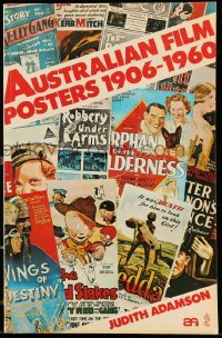 3y017 AUSTRALIAN FILM POSTERS 1906-1960 Australian softcover book '78 with lots of color images!
