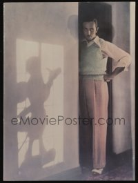 3y036 WALT DISNEY 1982 campaign book '82 cool image of Walt Disney & Mickey Mouse, Tron!