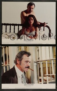 3z033 ALEX & THE GYPSY 8 color 11x14 stills '76 Jack Lemmon & sexy Genevieve Bujold!