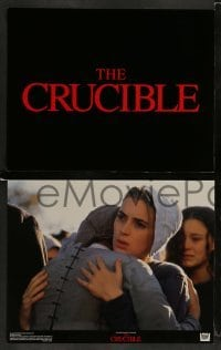 3z017 CRUCIBLE 9 color 11x14 stills '96 Daniel Day-Lewis & sexy Winona Ryder!