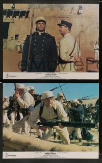 3z011 MARCH OR DIE 10 English LCs '76 Gene Hackman, Terence Hill, French Foreign Legion!