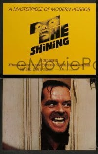 3z003 SHINING 13 color 11x14 stills '80 King & Kubrick, Shelley Duvall, Jack Nicholson, Crothers!