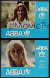 3z008 ABBA: THE MOVIE 10 English LCs '78 Swedish pop rock group sold more records than anyone!
