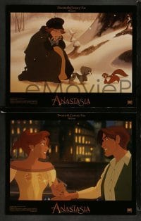 3z009 ANASTASIA 10 LCs '97 Don Bluth cartoon about the missing Russian princess!