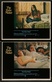 3z040 BABY MAKER 8 LCs '70 directed by James Bridges, surrogate mom Barbara Hershey!