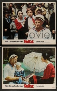 3z024 POPEYE 9 LCs '80 by Robin Williams in title role as E.C. Segar's classic character!