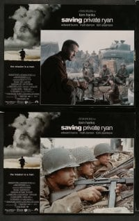 3z004 SAVING PRIVATE RYAN 12 LCs '98 Steven Spielberg, Tom Hanks, Tom Sizemore, Matt Damon, Davies!