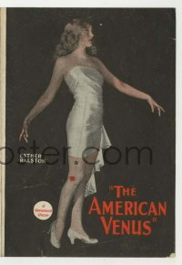 4a018 AMERICAN VENUS herald '26 Louise Brooks shown, Miss America, Esther Ralston & ideal woman!