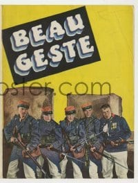 4a023 BEAU GESTE herald '26 great images of Ronald Colman & French Foreign Legionnaires!