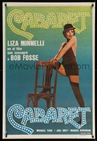 4b008 CABARET Argentinean R70s Liza Minnelli sings & dances in Nazi Germany, directed by Fosse!