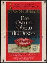 4b009 THAT OBSCURE OBJECT OF DESIRE Argentinean '77 Cet obscur object du desir, art by Ferracci!