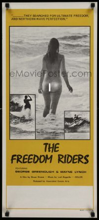 4b017 FREEDOM RIDERS Aust daybill '72 super sexy completely naked Aussie surfer girl!