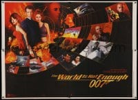 4b037 WORLD IS NOT ENOUGH Indian '99 Brosnan as James Bond, Denise Richards, Sophie Marceau!