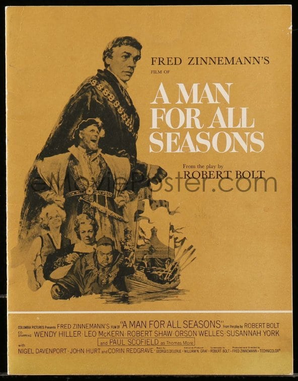a review of the play a man of all seasons A man for all seasons depicts the confrontation between church and state, theology and politics  the play was first staged in 1960 at the globe theatre in london.