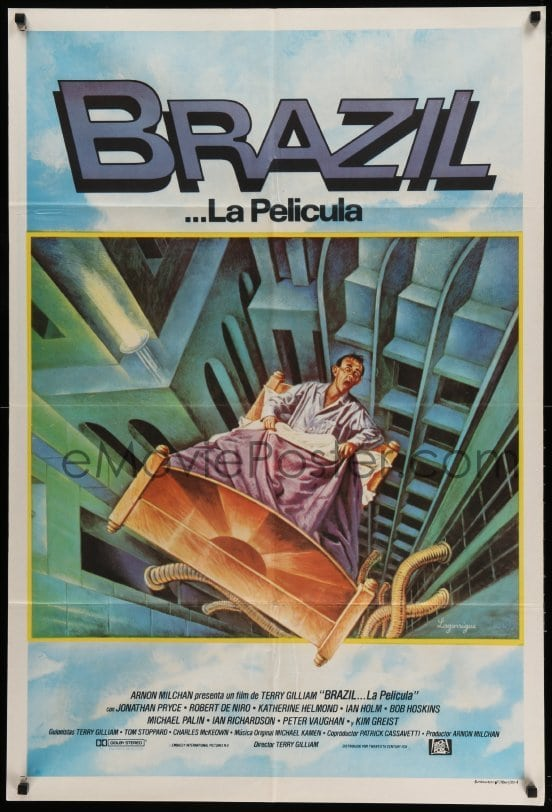 the world of terry gilliam in the science fiction satire brazil