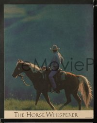 4k020 HORSE WHISPERER 11 color LCs '98 star & director Robert Redford, Sam Neill, Johansson!