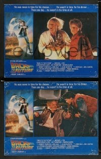 4k004 BACK TO THE FUTURE 8 English LCs '85 Robert Zemeckis, Michael J. Fox, Christopher Lloyd