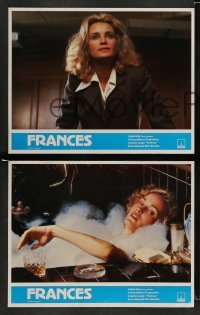 4k003 FRANCES 11 English LCs '82 Jessica Lange as cult actress Frances Farmer!