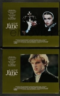 4k010 LADY JANE 8 English LCs '86 Helena Bonham Carter & Cary Elwes ruled England for just 9 days!