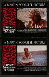 4k011 LAST TEMPTATION OF CHRIST 8 English LCs '88 Martin Scorsese, Willem Dafoe as Jesus!
