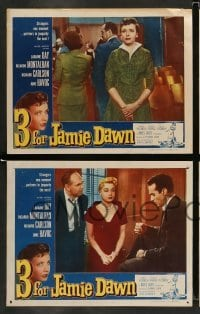 4k037 3 FOR JAMIE DAWN 8 LCs '56 great images of Laraine Day, Ricardo Montalban, Richard Carlson!