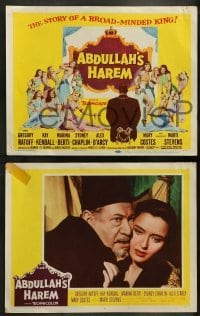 4k040 ABDULLAH'S HAREM 8 LCs '56 Gregory Ratoff, Kay Kendall, English sex in Egypt!
