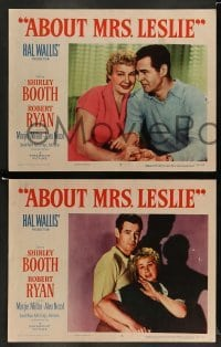 4k042 ABOUT MRS. LESLIE 8 LCs '54 Shirley Booth, Robert Ryan, the man she never quite married!