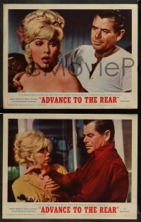 4k049 ADVANCE TO THE REAR 8 LCs '64 Glenn Ford, sexy Stella Stevens, Melvyn Douglas!