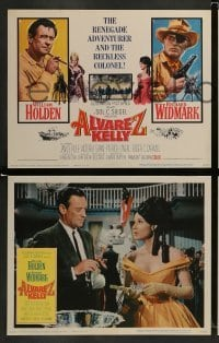 4k062 ALVAREZ KELLY 8 LCs '66 renegade adventurer William Holden & reckless Colonel Richard Widmark