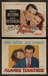 4k063 ALWAYS TOGETHER 8 LCs '48 Robert Hutton, Joyce Reynolds, Cecil Kellaway