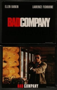4k076 BAD COMPANY 8 LCs '95 cool images of Ellen Barkin, Laurence Fishburne, Frank Langella!