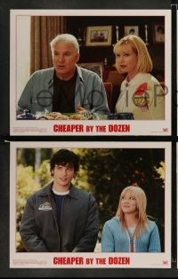 4k021 CHEAPER BY THE DOZEN 10 LCs '03 Steve Martin, Hilary Duff, Bonnie Hunt, Ashton Kutcher