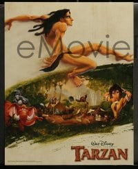 4k034 TARZAN 9 LCs '99 Disney cartoon created from the famous Edgar Rice Burroughs story!