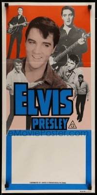4r696 ELVIS PRESLEY STOCK Aust daybill 70s six great images of the rock  roll king performing