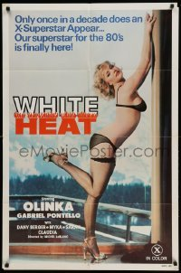 4t035 ALICE RENT A GIRL 1sh '82 L'amour aux sports d'hiver, once in a decade, White Heat!