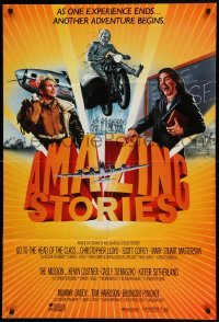 4t043 AMAZING STORIES int'l 1sh '87 Steven Spielberg science fiction fantasy series!