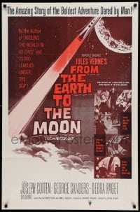 4t347 FROM THE EARTH TO THE MOON military 1sh R60s Jules Verne's boldest adventure dared by man!