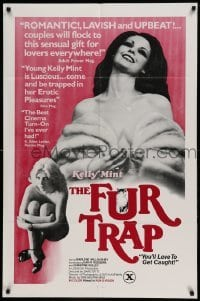 4t353 FUR TRAP 1sh '78 Colleen Anderson, Marlene Willoughby, you'll love to get caught!
