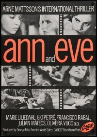 4y045 ANN & EVE export Swedish '70 Gio Petre, Marie Liljedahl, you haven't seen it all!