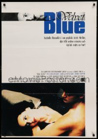 4y047 BLUE VELVET Swedish '87 directed by David Lynch, sexy Isabella Rossellini, Kyle McLachlan!