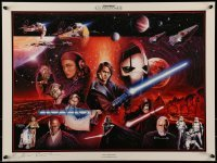 4z029 STAR WARS CELEBRATION III signed artist's proof! 18x24 art print '05 by Brian Rood,