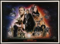 4z026 STAR WARS CELEBRATION III signed artist's proof 14x19 art print '05 by artist Cat Staggs!