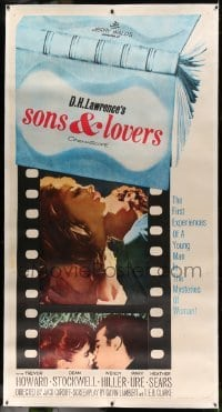 5b056 SONS & LOVERS linen 3sh '60 from D.H. Lawrence's novel, Dean Stockwell & sexy Mary Ure!