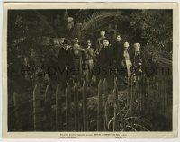5c019 WHITE ZOMBIE 8x10.25 still '32 great image of Bela Lusogi & his undead voodoo minions!