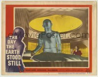 5c075 DAY THE EARTH STOOD STILL LC #3 1951 c/u of Gort healing Rennie while Neal watches!